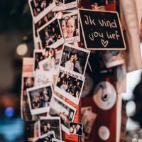 Onze famous foto en sticker paal in COFFEELAB UC