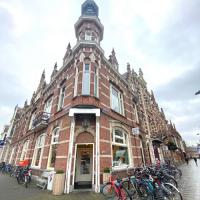 De entree van het karakteristieke pand van COFFEELAB Den Bosch